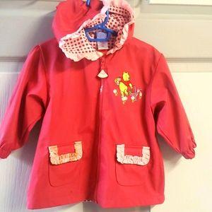 Winnie the poo raincoat